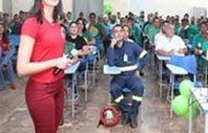 Barra do Bugres: Profissionais do Banco de Sangue realizam palestra aos colaboradores da Barralcool