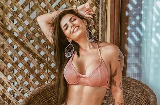 Bianca Leão, eterna musa do Fluminense, é considerada uma das musas mais bonitas do Brasil na atualidade