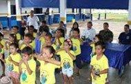 Cáceres: Prefeitura e Exército celebram ações de reparos em escolas