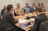 Bolsonaro recebe representantes de polícias militares no gabinete de transição