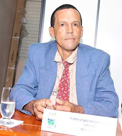 Vereador Mário Aparecido dos Santos