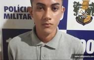 Tangara: jovem é detido suspeito de fornecer drogas em praça pública