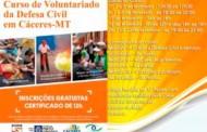 Voluntários passam por capacitação para atuar na Caravana da Transformação em Cáceres