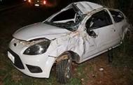 Capotamento em rodovia em Nova Mutum deixa um ferido