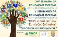 Seminário da Educação Especial começa nesta segunda (24) em Sinop