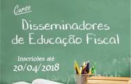 Sefaz oferece curso gratuito de Disseminadores de Educação Fiscal para professores