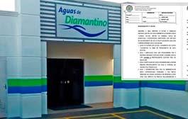 Câmara REQUERE explicações da Concessionária Águas de Diamantino