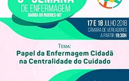 Barra do Bugres realiza a 6ª Semana da Enfermagem