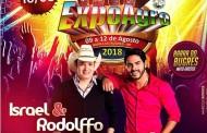"Israel & Rodolfo e sua ""Casa Mobiliada"" na Expoagro Barra do Bugres"