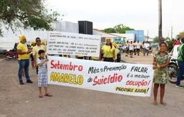 CAPS de Barra do Bugres realiza ato de Prevenção do Suicídio neste sábado