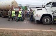 Motociclista morre esmagado entre duas carretas que trafegavam no mesmo sentido da BR-163 em MT