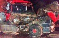 Quatro caminhões se envolvem em acidente em VG