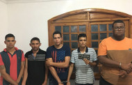Cinco ladrões de banco são presos em MT