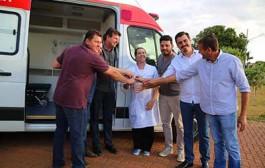 Administração entrega ambulância nova ao Distrito de Boa Esperança do Norte