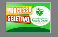 Prefeitura de Rosário Oeste abre processo seletivo com salários até R$ 12 mil.