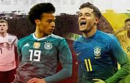 Em alta, Brasil revê Alemanha com sete motivos para exorcizar