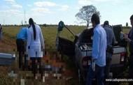 Mulher morre ao capotar veículo enquanto voltava para casa após show do cantor Gusttavo Lima em Campo Novo