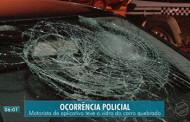 Homem é detido após quebrar vidro de carro de motorista de aplicativo em Cuiabá