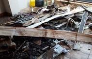 Por não aceitar fim do relacionamento, homem ateia fogo na casa de ex e tem 90% do corpo queimado em MT