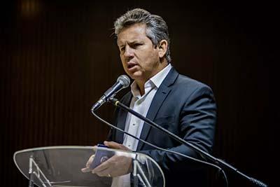 Comissão de Transmissão de Mandato recebe governador eleito no Palácio Paiaguás