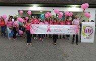 Alta Floresta:Caminhada Outubro Rosa chama atenção para a prevenção do câncer de mama