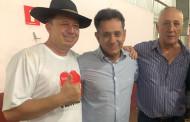 Nilson Leitão recebe apoio do prefeito do MDB