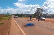 Ciclista morre atropelado por caminhonete na BR-163 em MT