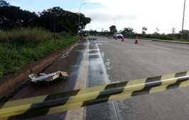 Acidente entre motocicleta e ônibus mata motociclista na BR-163 em MT