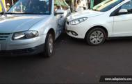 Tangará: colisão entre dois veículos deixa idosa ferida