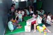 Brinquedos educativos são entregues para crianças das CMEI de Barra do Garças