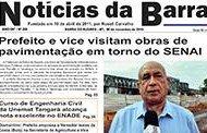 Jornal Notícias da Barra – Edição Nº 266 – 09 de novembro de 2018