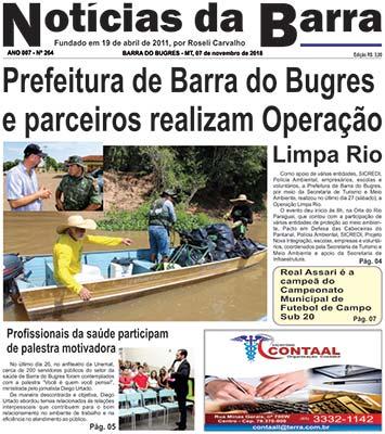 pagina-01-Edição-264--de-07-11-2018---N-da-Barra