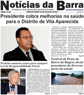 pagina-01---Ediçao-220---06-a-08-04-18-Noticias-da-Barra