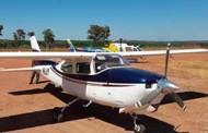 Polícia de MT intercepta avião com 300 kg de drogas no Tocantins