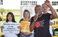 Trabalhadores ocupam ALMT após ausência do governo em audiência pública