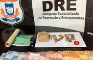Boca de fumo é desarticulada e traficante preso pela Policia Civil na Capital