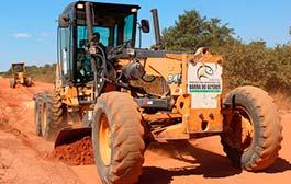 Prefeitura inicia recuperação de estradas vicinais de Nova Fernandópolis