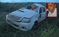 Advogado morre após caminhonete capotar em rodovia de MT