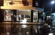 Ladrões roubam loja de grife no Centro de VG