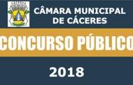 Concurso Público Câmara Municipal de Cáceres