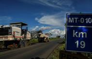 Sinfra inicia obras de restauração da MT-010 entre rodoanel e Distrito da Guia
