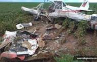 Piloto morre em queda de avião agrícola no interior de MT