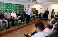 Pinheiro anuncia aporte de R$ 100 milhões do governo federal para agilizar as obras do novo Pronto Socorro