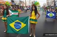Público expressivo prestigia Desfile Cívico em Tangará da Serra