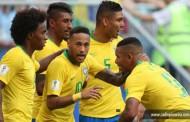 Com Neymar inspirado, Brasil bate o México e vai às quartas de final da Copa