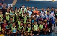 Secretários marcam presença nas últimas partidas das Copas de Futsal Júnior e de Voleibol