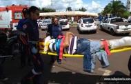 Tangará: condutora invade preferencial e causa acidente envolvendo três veículos